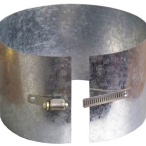 Ductworks - HVAC - round pipe drawband