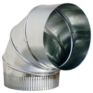 Ductworks - HVAC - round pipe elbow