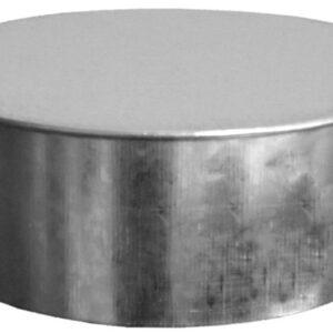 Ductworks - HVAC - round pipe end caps - no crimp