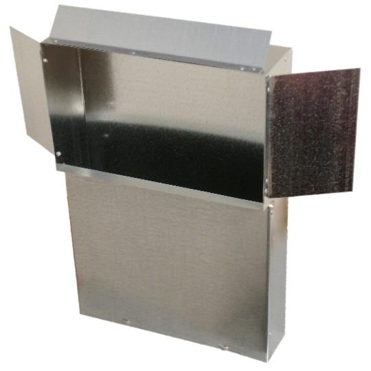 Ductworks - HVAC - wall stack register stack head