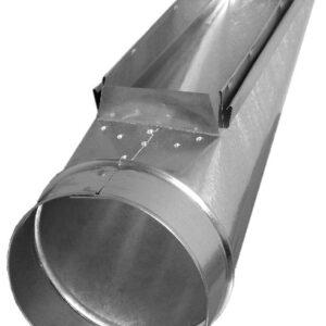Ductworks - HVAC - wall stack register end boot
