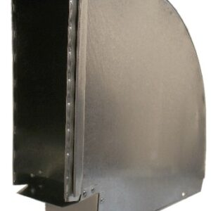 Ductworks - HVAC - wall stack horizontal elbow
